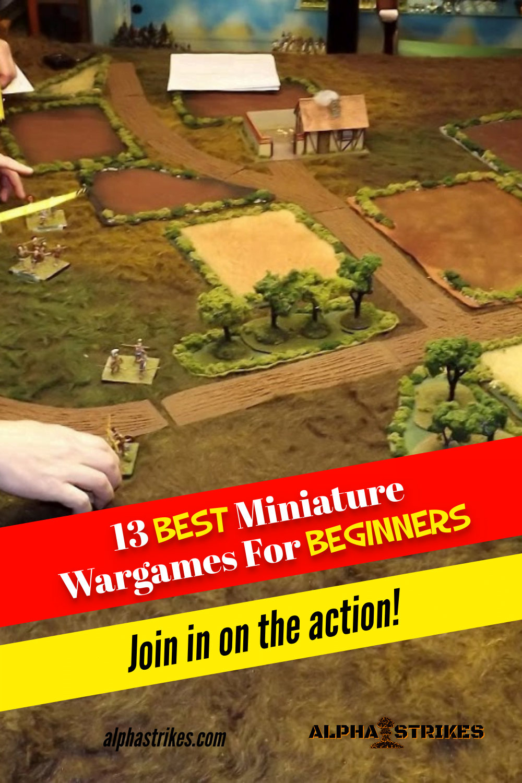 13 Best Miniature Wargames For Beginners