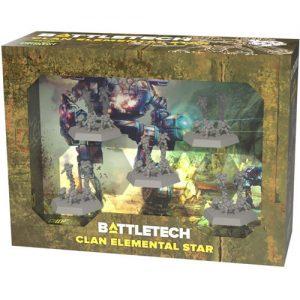 battletech force pack clan elemental star