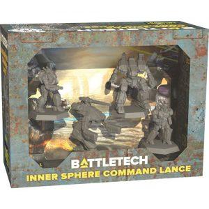 battletech force pack inner sphere command lance