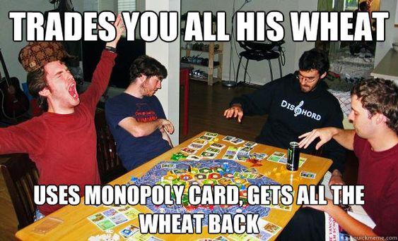 dominating at board game