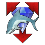 clan diamond shark logo
