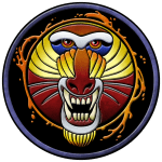 clan fire mandrill logo