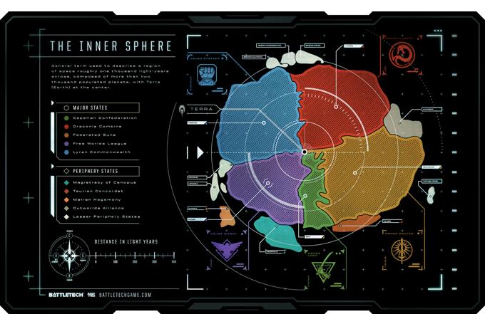 inner sphere map