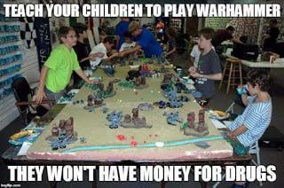 teach your children to play warhammer